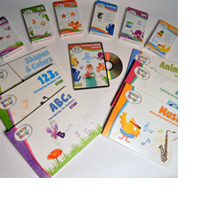 Brainy Baby Toddler Preschool Learning Collection